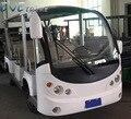 4 wiel Shuttle Golfkar Touring Auto Buggy opgelost door 24 uur running systeem voor 11 standaard passagiers over laden 16 mensen