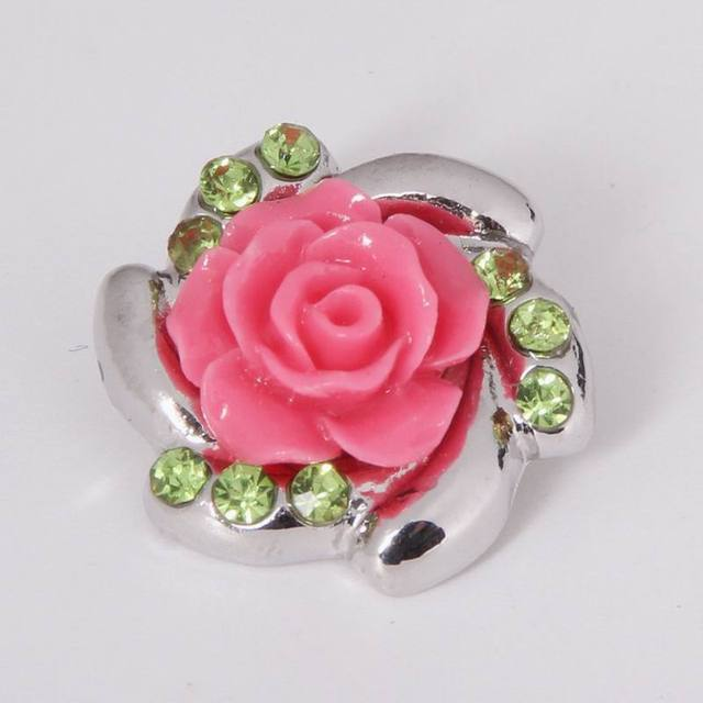 18mm Resin Rose Flower With...