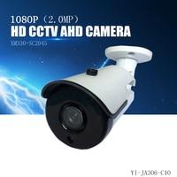 YiiSPO AHD 1080P Bullet Camera 2 0MP Analog Camera Outdoor Waterproof Night Vision XM330 SC2045 CCTV