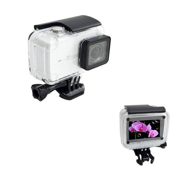 Anordsem Diving 40m Waterproof Case for Xiaomi YI 4k/4k+/yi lite Camera Mount Protective Housing Case