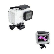 Anordsem nurkowanie 40m wodoodporna obudowa dla Xiaomi YI 4 k/4 k +/yi lite mocowanie kamery obudowa ochronna