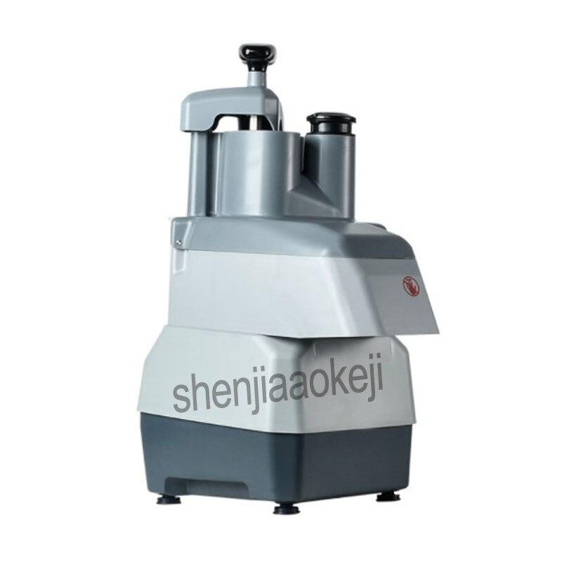 Коммерческая овощерезка многофункциональная электрическая машина для резки нарезки ломтиками картофеля резки проволоки резки 220 В - 2