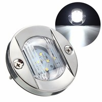 2835 SMD LED Marine Boat Yacht Light Transom Stainless Steel Anchor Stern Light Waterproof White DC12V