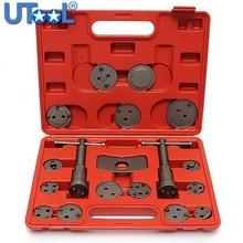 18 Stks/set Auto Universal Precision Disc Remklauw Wind Terug Remzuiger Compressor Tool Kit Voor Auto Garage Reparatie Tools