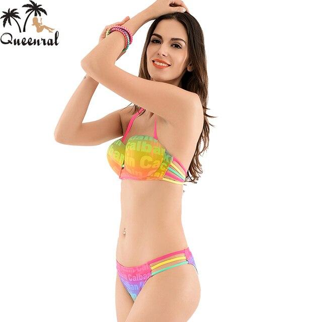 5660f83cf97ad Queenral swimwear bra women bra 2016 female beach wear bathing suit women  bra plavky wear women bra swimsuit