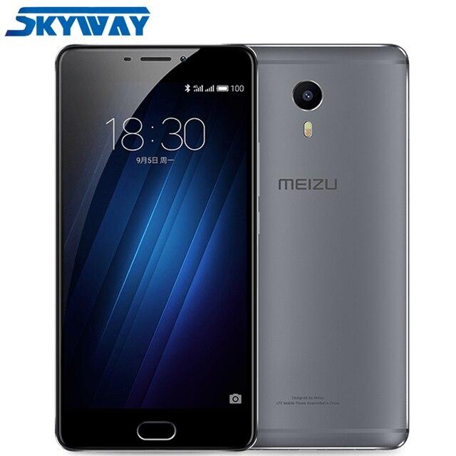 Оригинал, Meizu M3 Max, FDD 4G LTE мобильный телефон, 3 Гб RAM, 64 Гб ROM, Helio P10, восемь ядер, 6.0 дюймов, 1920x1080p, FHD, отпечаток пальца, мгновенная зарядка