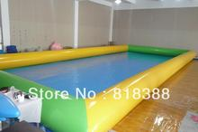 pvc hypalon pool 6X8X0.5MTS water pool