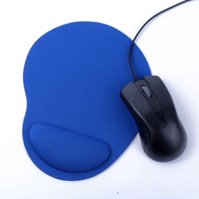 Thicken PC Mouse Pad Game Mouse Soft With Wrist Rest Support Mat For Gaming PC Laptop For Office Computer Mac 4mm EVA