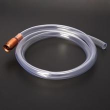 Газовый сифон насос бензиновый топливный водный шейкер сифон безопасности самовсасывающий шланг Труба# Aug.26