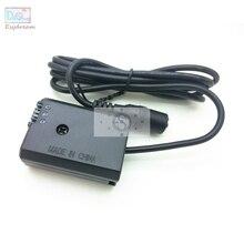 Adaptador de fuente de alimentación externa para cámara Sony NP FW50 FW50 A7 A6500 NEX 7 6 5 5T, repuesto de batería simulada AC PW20