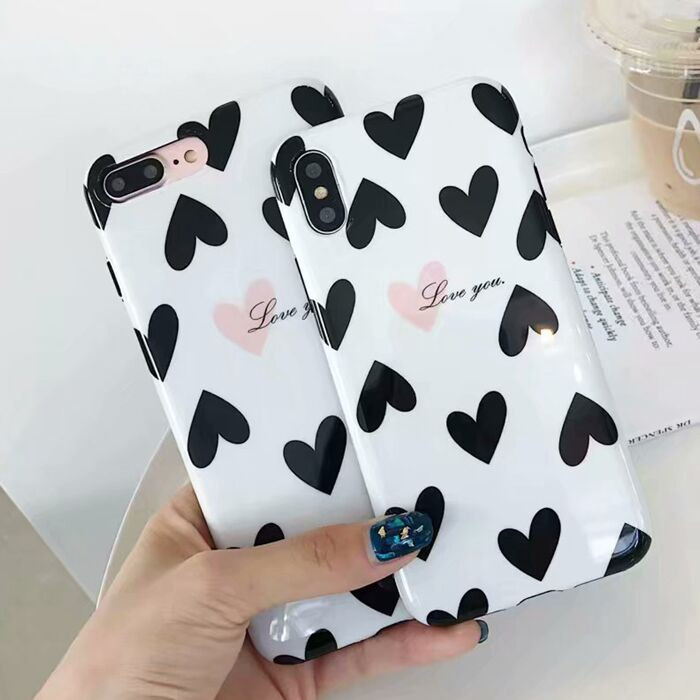 Sweet Heart Love You Design Soft Protetive Cell Phone Case