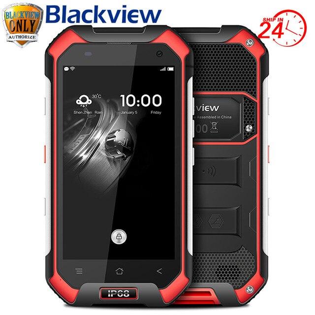 IP68 Wasserdichte Blackview BV6000 Handy 4G LTE Android 6.0 MTK6755 Octa-core 2,0 Ghz 3 GB RAM 32 GB ROM 13MP GPS Glonass Navi