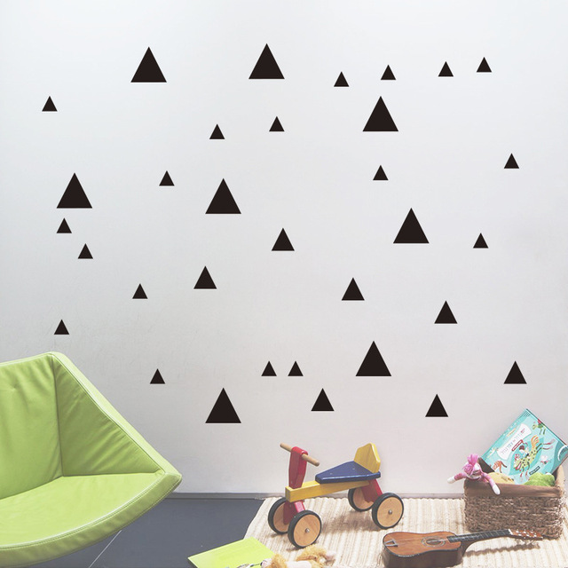Diy decorative art murals stars round circles vinyl wall stickers removable decals for bedroom living room