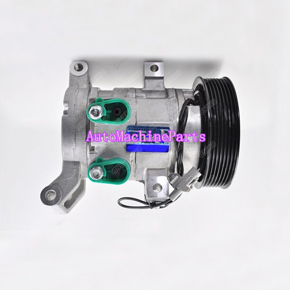 Auto AC Compressor 7PK 10S11C For Toyota Vitz Hilux Vigo 447180-8300 88310-0K090 new car ac compressor 88320 36560 88320 36530 for toyota coaster bus 7pk 10p30c