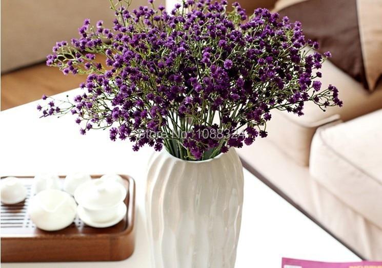 Silk Gypsophilia Craft Fabric Flower Home Decor Wedding