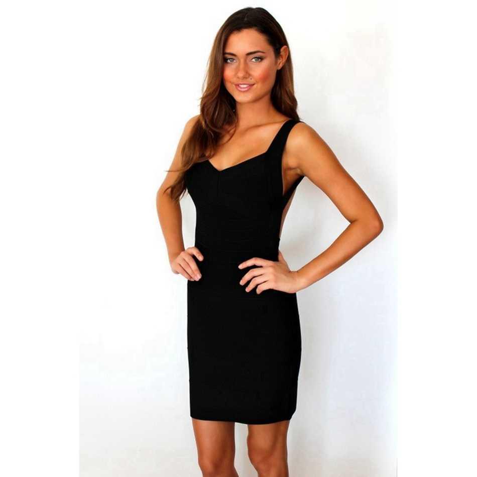 包帯サマードレス赤黒人女性の包帯ドレスセクシーなシックなノースリーブミニドレスパーティーセ Vestidos 卸売
