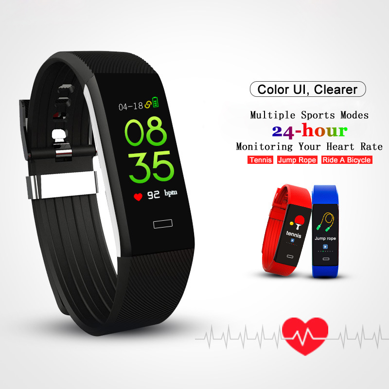 Original Design Men Smart Wristband Sport Watch Intelligent Bracelet Heart Rate Monitor Digital GPS Sport Track
