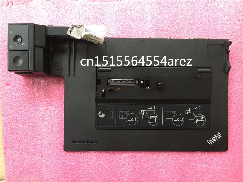 2pcs New Lenovo ThinkPad X220 X230 T410 T420 T430 T510 T520 MiniDockPlusASM-SANYO Expansion slot The base 04Y2071 TYPE 4338 цена