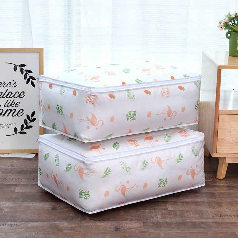 Моющаяся стеганая сумка для хранения, домашняя одежда, стеганая подушка, одеяло, сумка для хранения, дорожная сумка-Органайзер для багажа, влагостойкая сумка для хранения - Цвет: G178029A