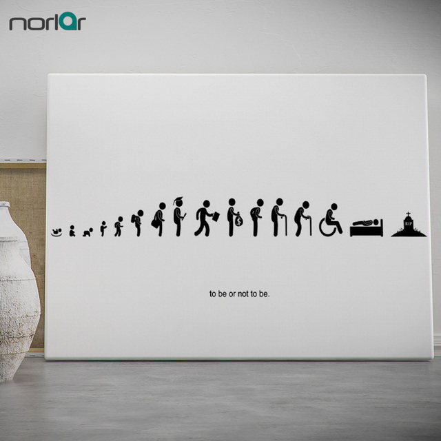 Canvas Painting Modern Wall Art Picture Human Life Cycle Stages ...