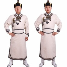 Free shipping le costume mongol Mongolian prenda Chinese minority Men Mongolia clothes robed dance cosplay Mongolian costume chinese minority clothing apparel mongolia cashmere clothes dance costume men cosplay costume mongolia gown robe