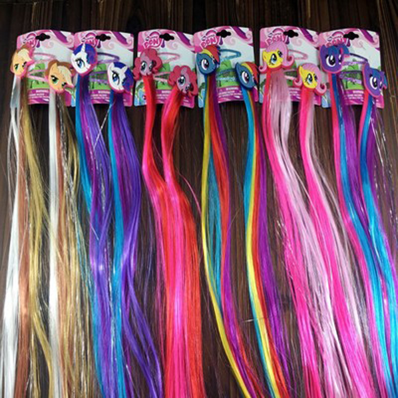 Halloween Cosplay Wig Headband Girl Anime Cosplay Accessories Hair Clips Children Party Halloween Cos Wigs Kids Gifts Wholesale