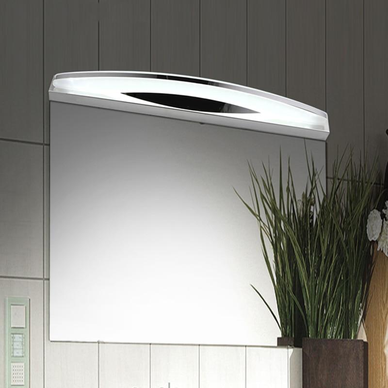 540 мм современный 12 Вт зеркало в ванной свет спальня ночники Banheiro бра лампе деко