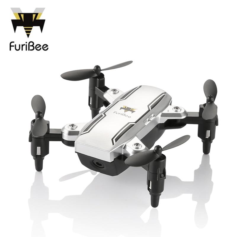 FuriBee H815 RC Dron Foldable Selfie Drone Altitude Hold Mini Quadcopter Headless Mode Dron Vs JJRC