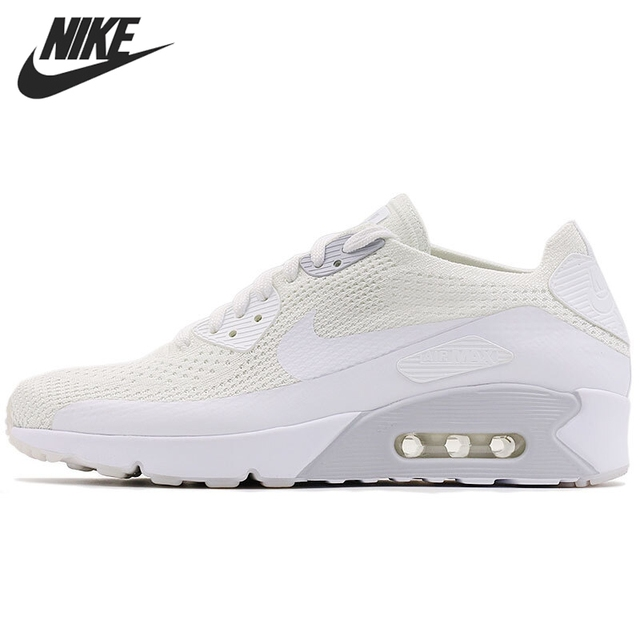 Original New Arrival 2017 NIKE AIR MAX 90 ULTRA 2.0 FLYKNIT Men's Running  Shoes Sneakers