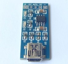 100pcs lot  PCB board size: 37.3 (mm) *15 (mm) TP4056 1A power chargering module