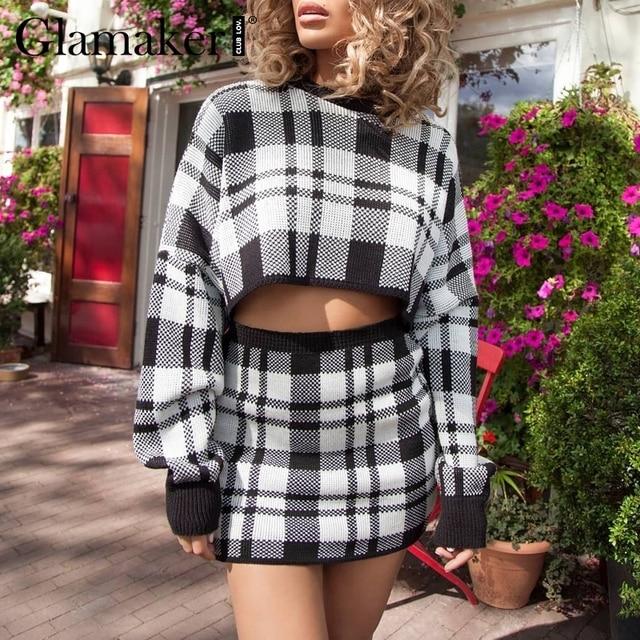 Elegant winter sweater female fashion party short dress 1