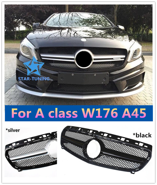 Front grille Suitable for M-B A Class W176 A45 Grille 2013-15