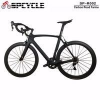 Smileteam Chinese Full Carbon Road Complete Bike Di2 Carbon Bicycle Road Frame With 22 Speed Ultegra