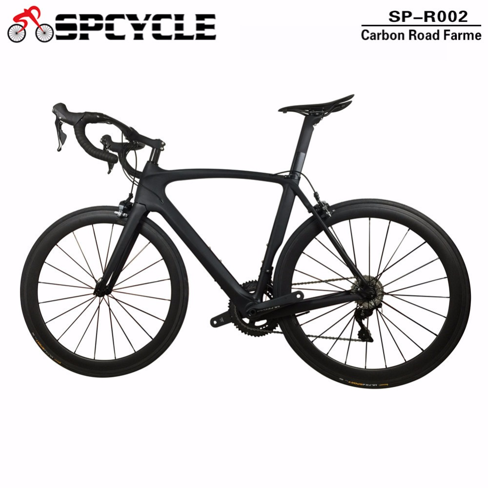 Spcycle Chinese Full Carbon Road Complete Bike,T1000 Carbon Bicycle Road Bike with 22s Ultegra Groupsets,Complete Carbon Bicycle