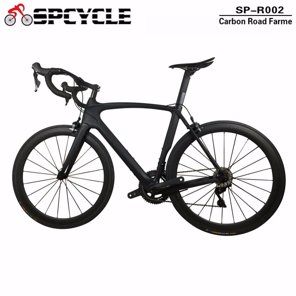 Vélo complet de route en carbone chinois Spcycle, vélo de route en carbone T1000 avec groupes Ultegra 22 s, vélo complet en carbone
