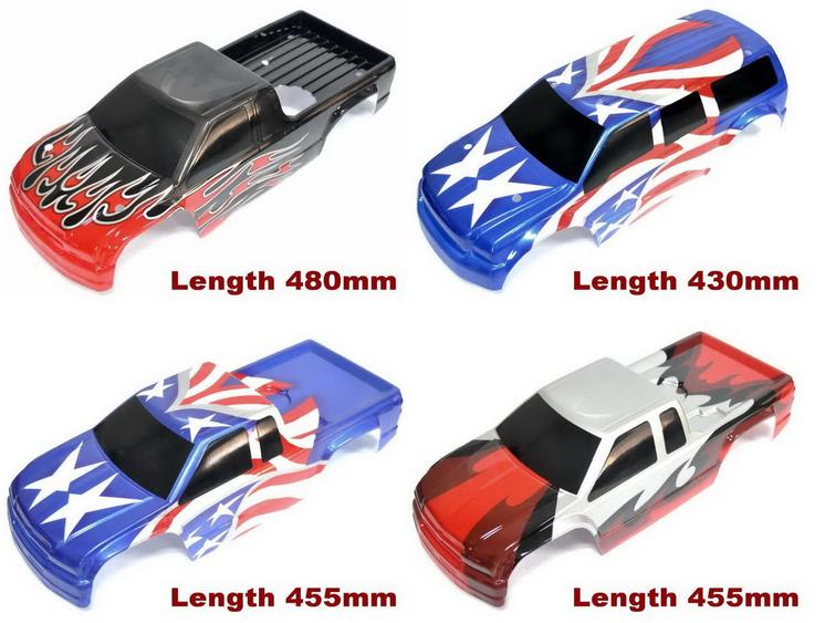 1 8 1 10 Scale Rc Painted Mt Truck Body Hpi Savage X4 6flux F4 6 Vrx Hsp Redcat Losi Fs Kyosho Tamiya T Maxx E Maxx Hraxxas Cc01 Hpi Savage Truck Bodyhpi Savage Body Aliexpress