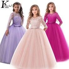 181bd87cb90b8 Robe de princesse d été pour filles robe de soirée pour enfants  adolescentes robes de mariée pour filles 8 9 10 12 13 14 ans ves.