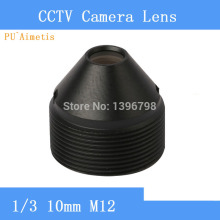 Factory direct 10mm pinhole lens CCTV cameras, M12 mount, F2 aperture fixed