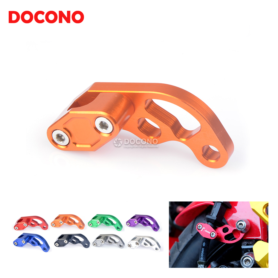 Universal Motorcycle CNC Hose Tube Line Clamps Clip For KTM duke 125 200 kawasaki ninja er4n ktm duke 390 690 ducati for ktm logo 125 200 390 690 duke rc 200 390 motorcycle accessories cnc engine oil filter cover cap