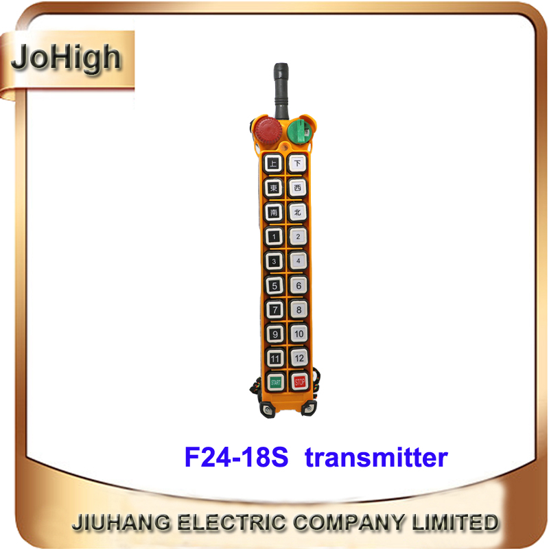 Factory Supply Single Speed Industrial Remote Control Transmitter AC/DC Universal Wireless for Hoist Crane transmitter nice uting ce fcc industrial wireless radio double speed f21 4d remote control 1 transmitter 1 receiver for crane