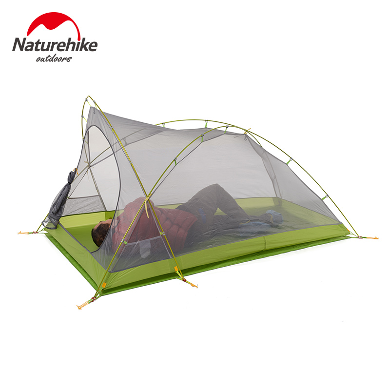 Naturehike Factory Store Cirrus 2 2 Person 3 Season Camping Tent Ultralight Large Space Camping Tent DHL free shipping 4