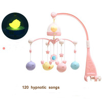 Kid Rattles Toys for Newborns Baby Musical Lighting Educational Rotating rattle Crib Mobile for Infant Peace of mind 0 12 months