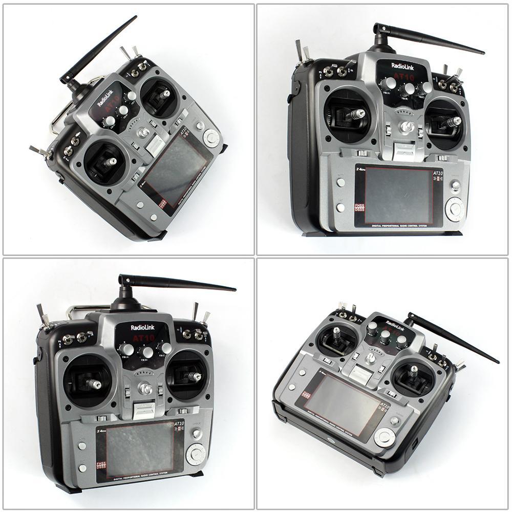 RadioLink AT10 II 2 4G 10CH Remote Control System Transmitter R12D Receiver RX PRM 01 RC