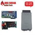 Последним VAS 5054A Bluetooth OKI Полный Чип ODIS 3.03 Поддержка 100% Протокол UDS VAS5054A Япония NEC Реле Диагностический инструмент