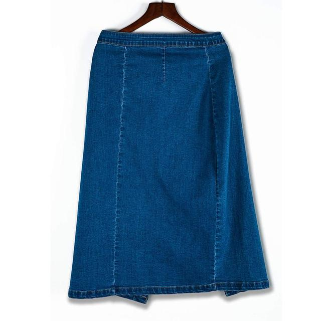 2019 Autumn Summer Velvet Skirt High Waisted Skinny Large Swing Long Pleated Skirts Metallic 1 Color Plus Size XS-5XL