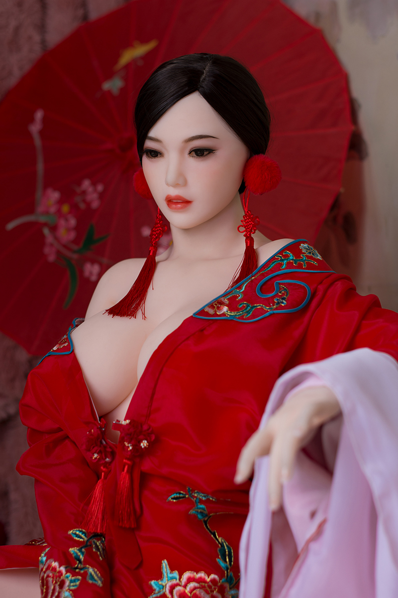 XFunShop Fenja 160cm Top quality real silicone sex dolls - Sexpuppe 14