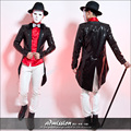 Clubs In Europe And America Male Sequined Costumes Bar Tide Male Host Dovetail Coat The Magician Stage Men Blazer Masculino