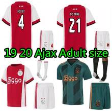 19 20 ajax home soccer jerseys shirts adult 2019 2020 new full kit Leisure man football shirt size S-XL(China)