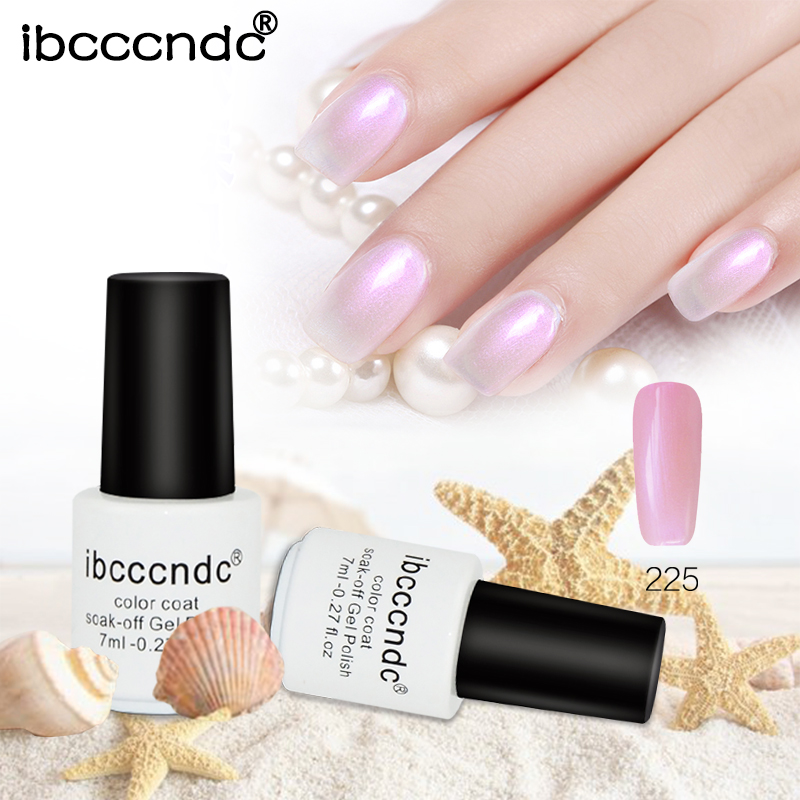 Painting Seashells With Nail Polish: Ibcccndc 7ML Shell Gel Nail Polish 12 Pearl White Colors