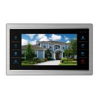 Homefong 7 Inch video door phone indoor monitor SD card Supported(Not included)